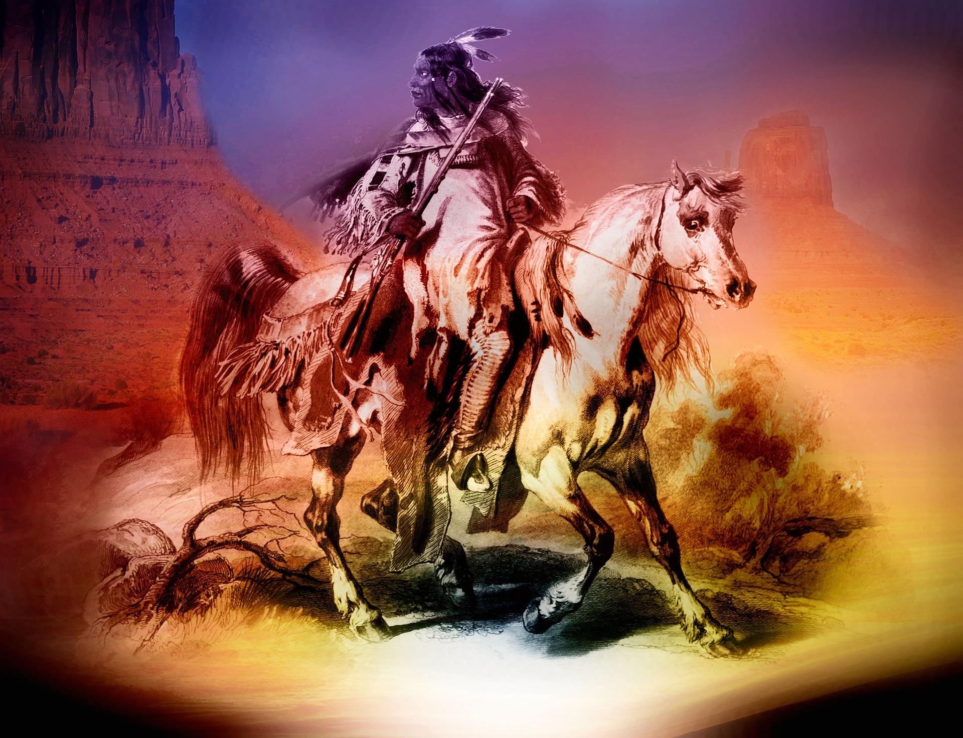 Lebensweisheiten der Indiander