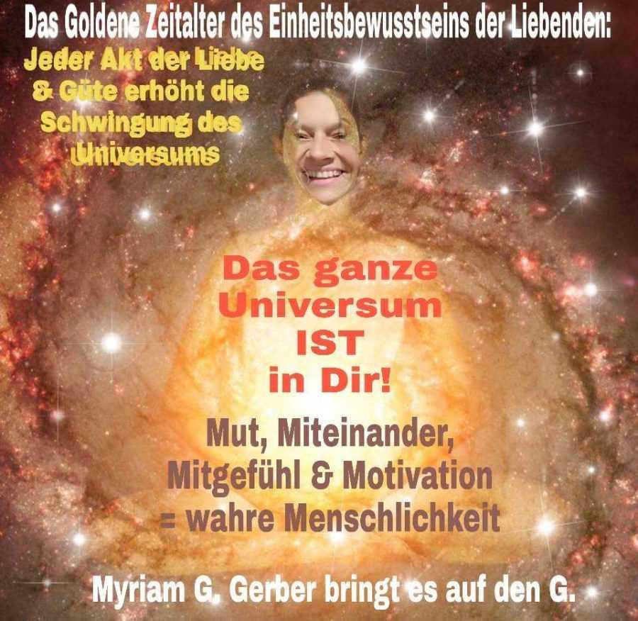 Das Universum ist in Dir
